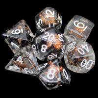 TDSO Character Class Fighters Shield 7 Dice Polyset