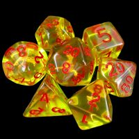 TDSO Character Class Barbarians Axe 7 Dice Polyset