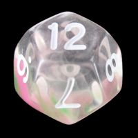 TDSO Cyclone Green & Pink D12 Dice