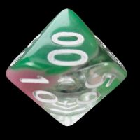 TDSO Cyclone Green & Pink Percentile Dice