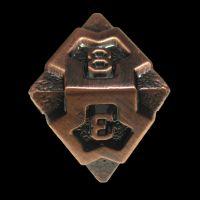 TDSO Metal Arcanist Antique Copper D8 Dice