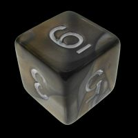 TDSO Duel Gold & Silver D6 Dice