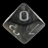 TDSO Duel Gold & Silver D10 Dice