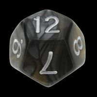 TDSO Duel Gold & Silver D12 Dice