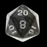 TDSO Duel Gold & Silver D20 Dice