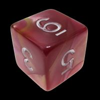 TDSO Duel Rose & Yellow D6 Dice