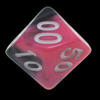 TDSO Duel Black & Pink Percentile Dice