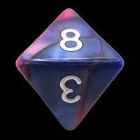 TDSO Duel Pink & Purple D8 Dice