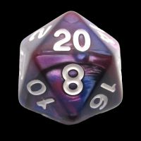 TDSO Duel Pink & Purple D20 Dice