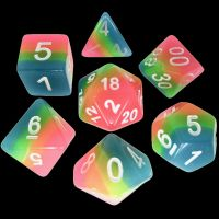 TDSO Layer Candy Glow In The Dark 7 Dice Polyset