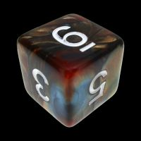 TDSO Duel Red & Teal D6 Dice