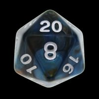 TDSO Duel Red & Teal D20 Dice