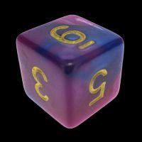 TDSO Duel Purple & Blue D6 Dice