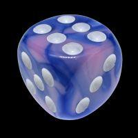 TDSO Duel Blue & Pink 16mm D6 Spot Dice