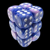 TDSO Duel Blue & Pink 12 x D6 Dice Set