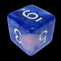 TDSO Duel Blue & Pink D6 Dice