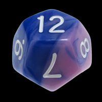 TDSO Duel Blue & Pink D12 Dice
