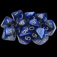 TDSO Duel Blue & Steel 10 x D10 Dice Set