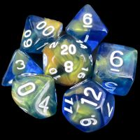 TDSO Paladins Honour 7 Dice Polyset FABULOUS FIFTY