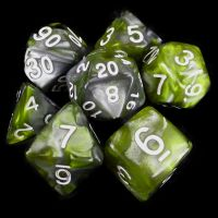 TDSO Duel Blood & Shadow 7 Dice Polyset