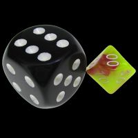 TDSO Duel Pink & Yellow MINI 10mm Percentile Dice