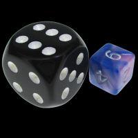TDSO Duel Blue & Pink MINI 10mm D6 Dice