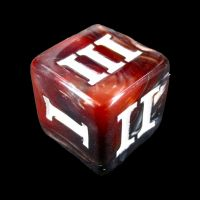 Impact Mage Bullets Roman Numeral D3 Dice