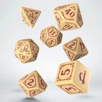 Q Workshop Pathfinder Ruins of Azlant Light Blue & Yellow 7 Dice Polyset