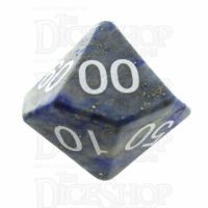 TDSO Lapis Lazuli 16mm Precious Gem Percentile Dice