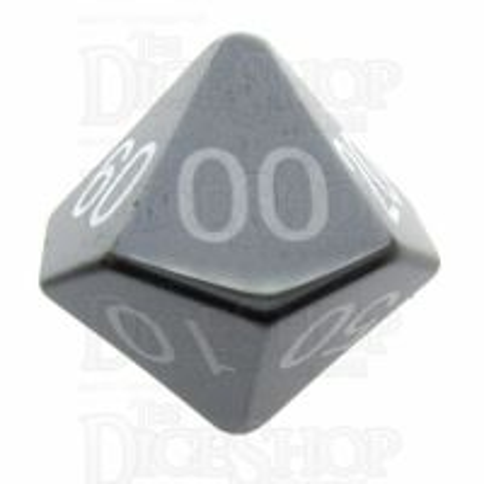 TDSO Hematite 16mm Precious Gem Percentile Dice