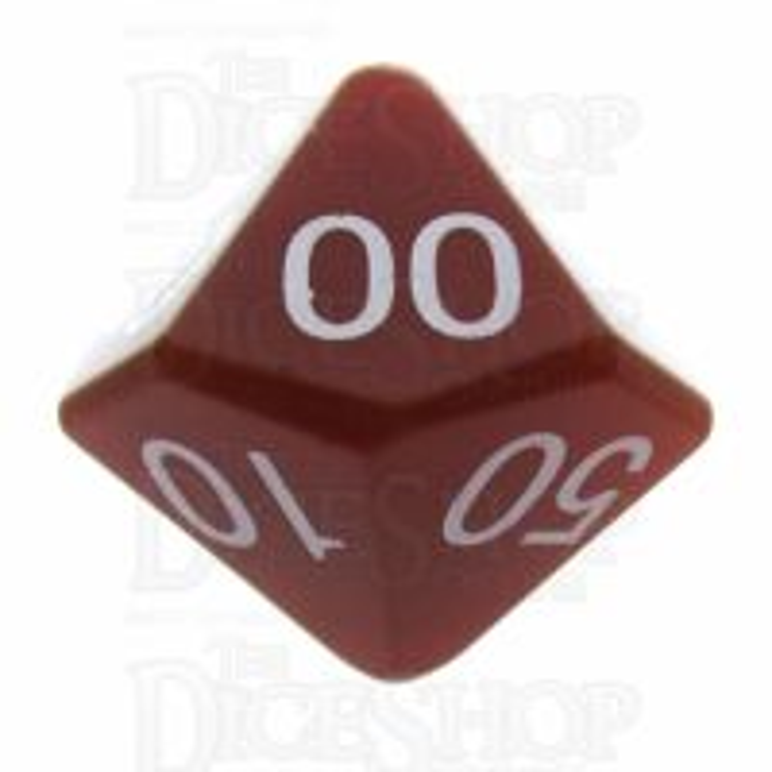 TDSO Carnelian 16mm Precious Gem Percentile Dice