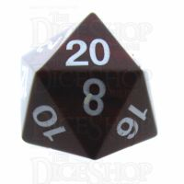 TDSO Jasper Red 16mm Precious Gem D20 Dice