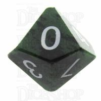 TDSO Ruby in Zoisite 16mm Precious Gem D10 Dice