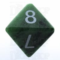 TDSO Ruby in Zoisite 16mm Precious Gem D8 Dice
