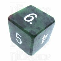 TDSO Ruby in Zoisite 16mm Precious Gem D6 Dice