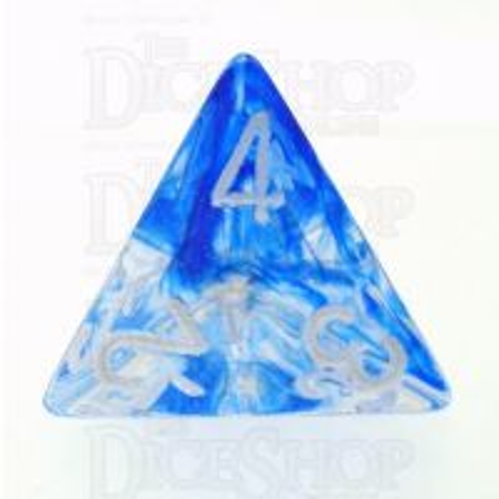 Chessex Nebula Dark Blue D4 Dice