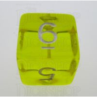 TDSO Bright Gem Citrine D6 Dice