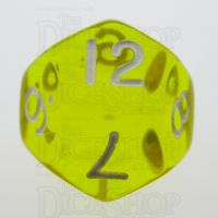 TDSO Bright Gem Citrine D12 Dice