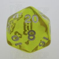TDSO Bright Gem Citrine D20 Dice