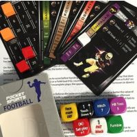 Pocket Sports American Football D6 Dice Game NEW EDITION