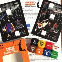 Pocket Sports Basketball D6 Dice Game NEW EDITION