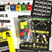 Pocket Sports Cycling Tour D6 Dice Game NEW EDITION