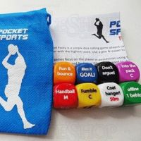 Pocket Sports Aussie Rules Football D6 Dice Game