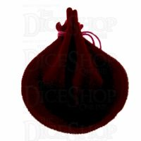 TDSO Small Round Burgundy Dice Bag