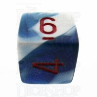 Chessex Gemini Astral Blue & White D6 Dice
