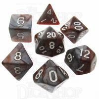 TDSO Duel Copper & Steel 7 Dice Polyset