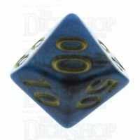 TDSO Duel Black & Teal Percentile Dice