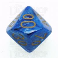 Chessex Vortex Blue Percentile Dice