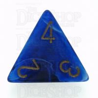 Chessex Vortex Blue D4 Dice