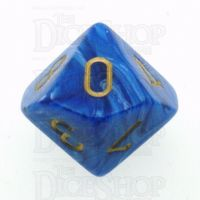Chessex Vortex Blue D10 Dice
